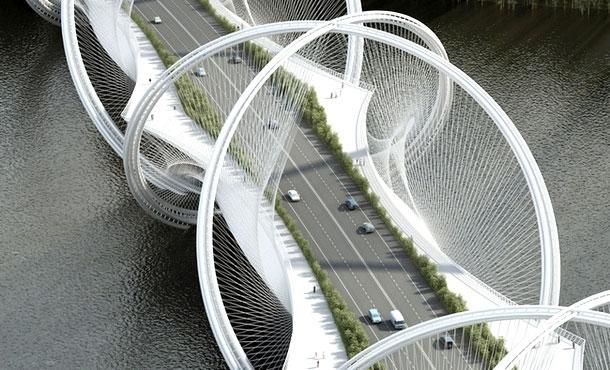 Проект моста для зимних Олимпийских игр в Пекине в 2022 году