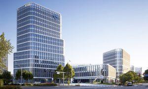 Бизнес-парк по проекту gmp в Пекине