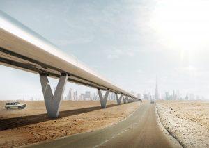 Уникальная транспортная система Hyperloop One