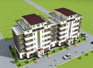 Проект пятиэтажного жилого комплексао комплекса