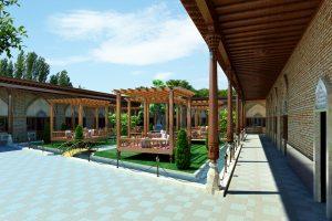 Узбекская чайхана - проект, фото