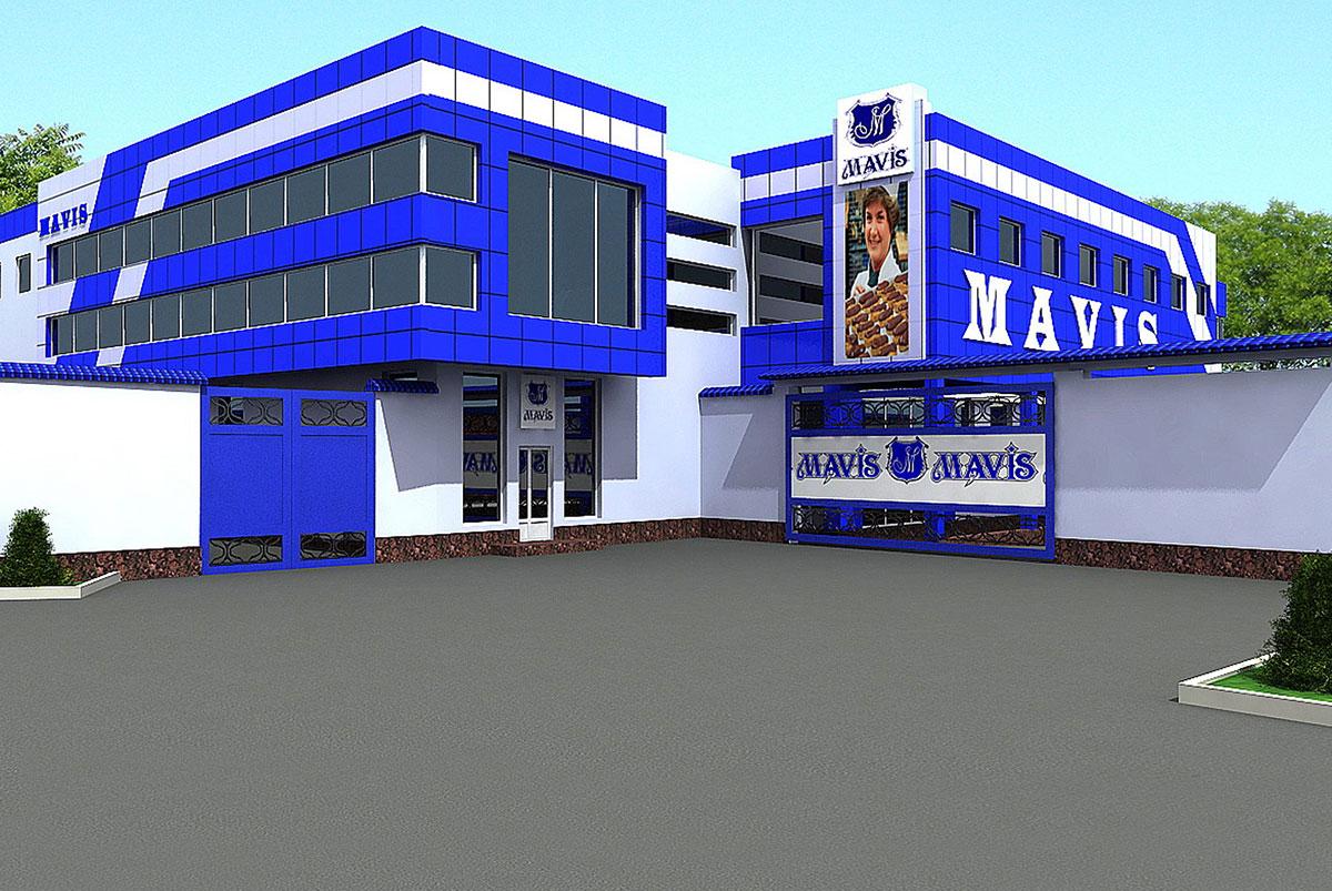 Эскизный проект цеха MAVIS GLOBAL