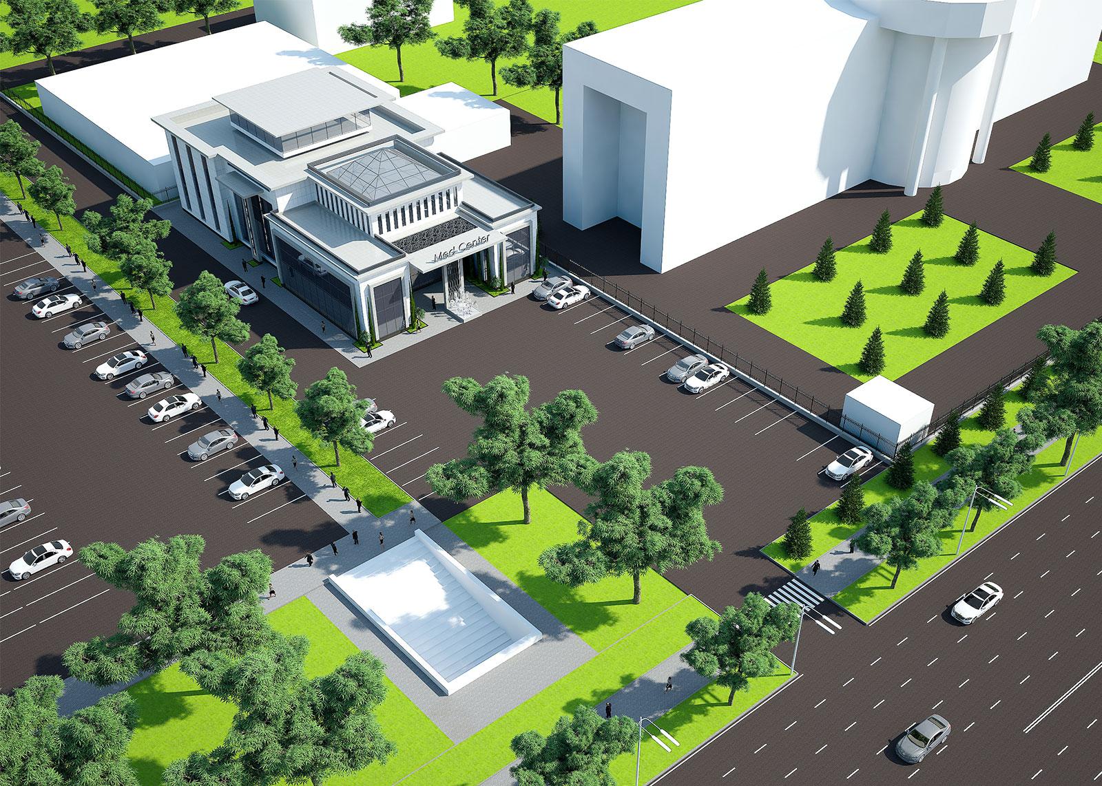 Проект медицинского центра в Ташкенте