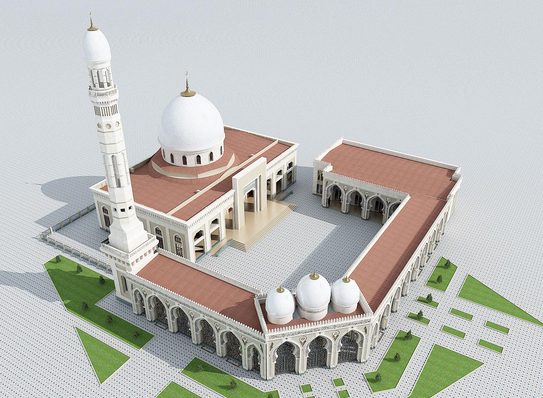 Реконструкция мечети