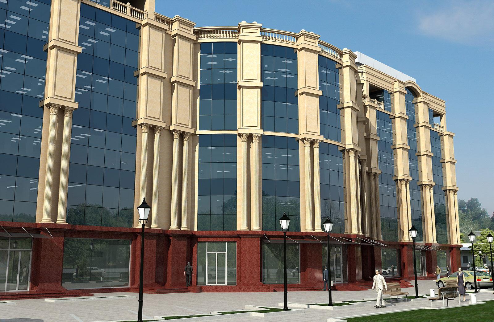 Торгово-бытовой комплекс в Шахристане