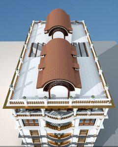Девятиэтажный гостиничный комплекс в Афганистане