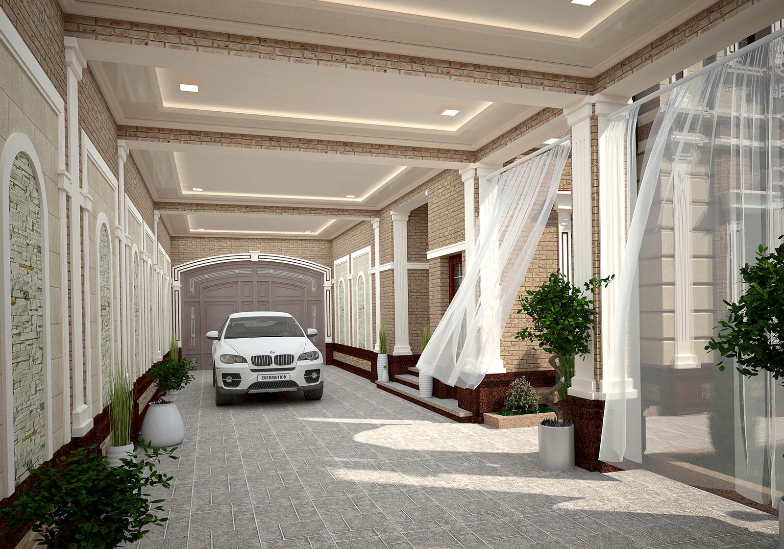 Проект частного дома в Ташкенте