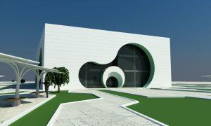 Проект торгово-развлекательного центра в 4 разных стилях