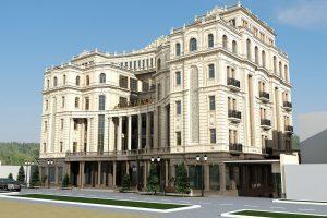 """Проект гостиницы """"OASIS PALACE"""""""