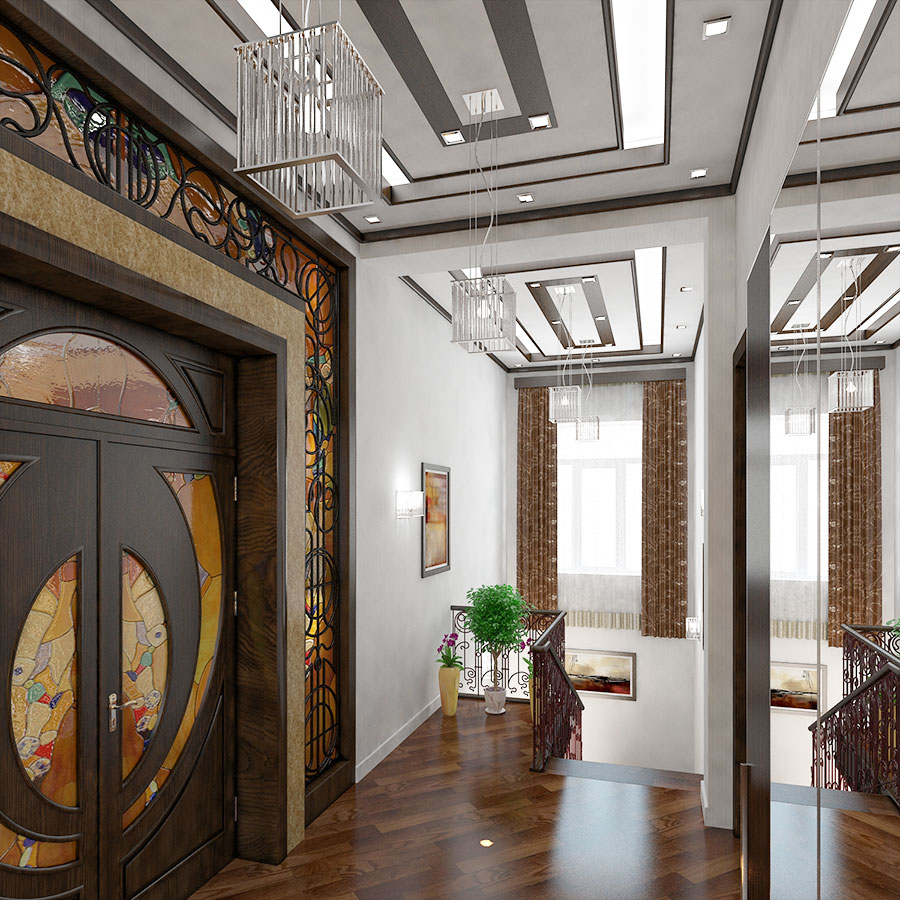 Дизайн интерьер большого дома в Ташкенте