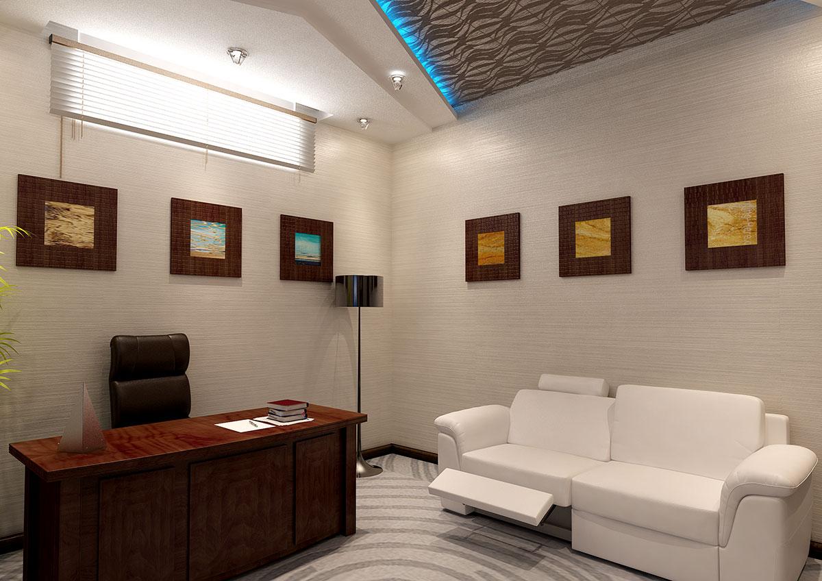 Дизайн кабинета в Ташкенте