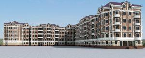Проект 5-этажного жилого дома