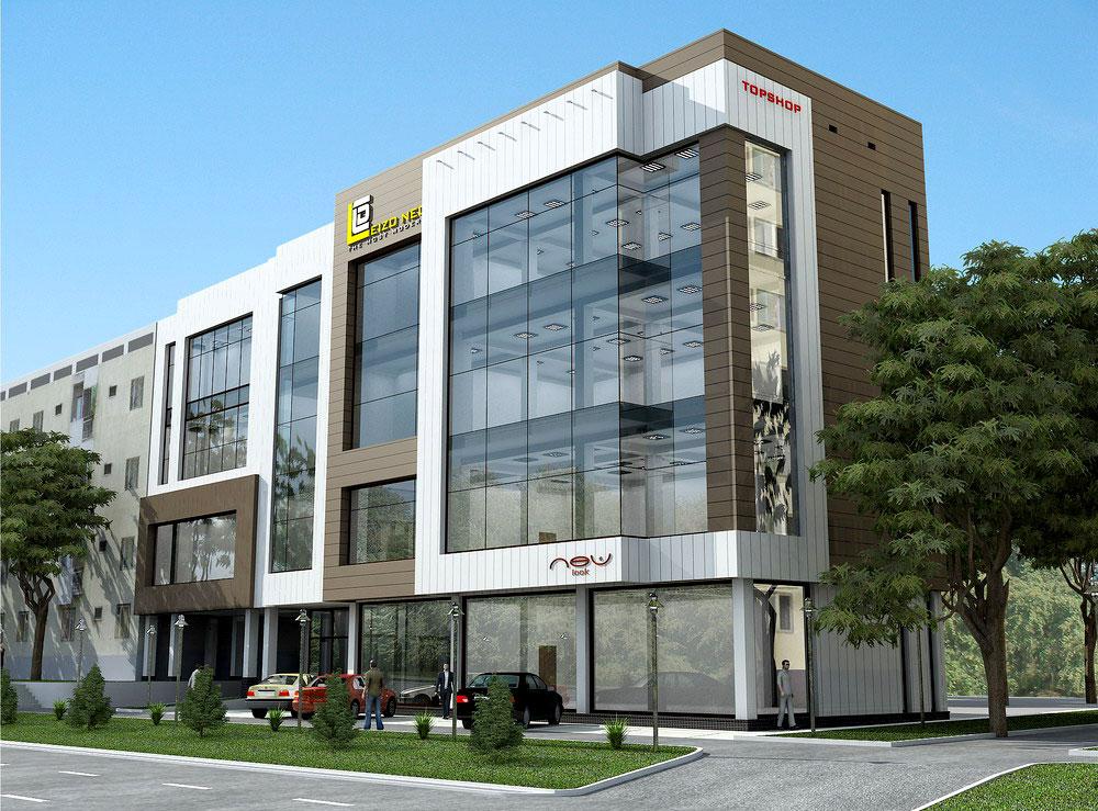 Четырехэтажный бизнес центре в Лабзаке