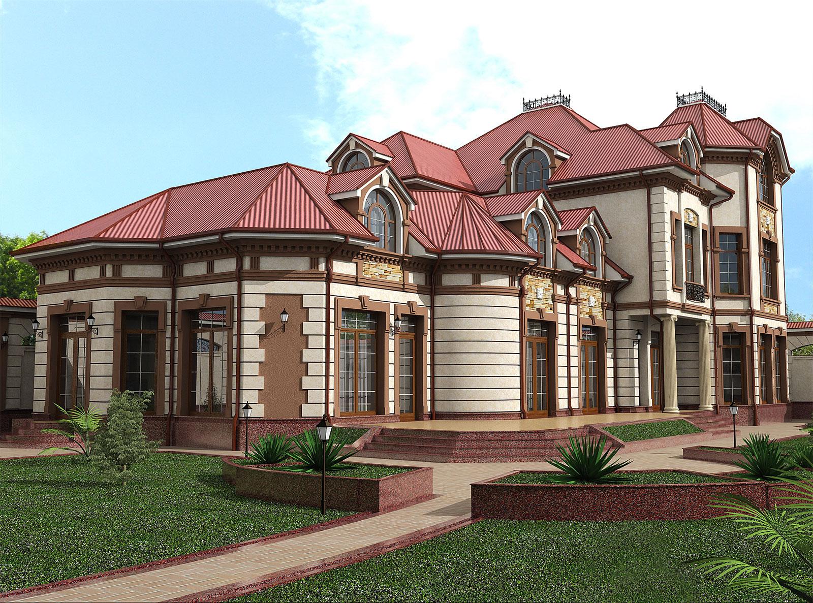 Элитный дом по индивидуальному проекту
