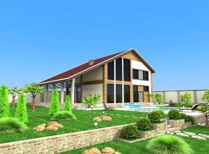 Дачный дом в Акташе