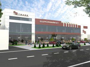 Супермаркет по ул. Фитрата в Мирабадском районе