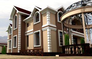 Проект дачного дома в Ташкенте, Хужакент