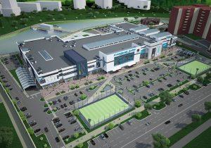 Проект торгово-развлекательного центра в центре Ташкенте