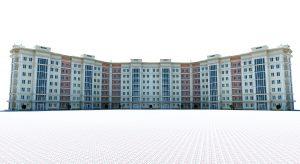 Проект семиэтажного жилого дома в городе Навои