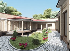 Проект частного дома из кирпича
