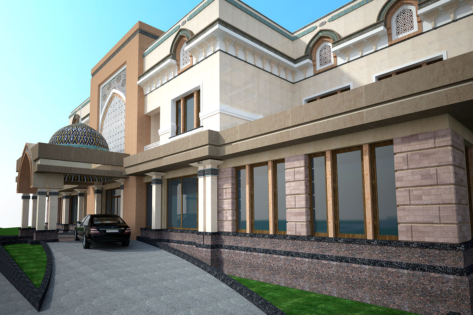 Проект гостиницы в Ургенче