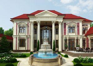 Роскошный особняк в центре города Ташкента