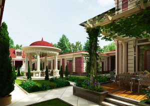 Эксклюзивный особняк в центре города Ташкента
