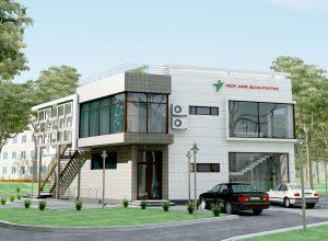 Необычный двухэтажный офис в Чиланзаре