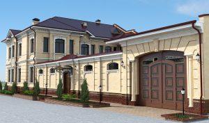 Двухэтажный особняк в Ташкенте, Жарарик