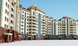 Проект многоэтажного жилого комплекса