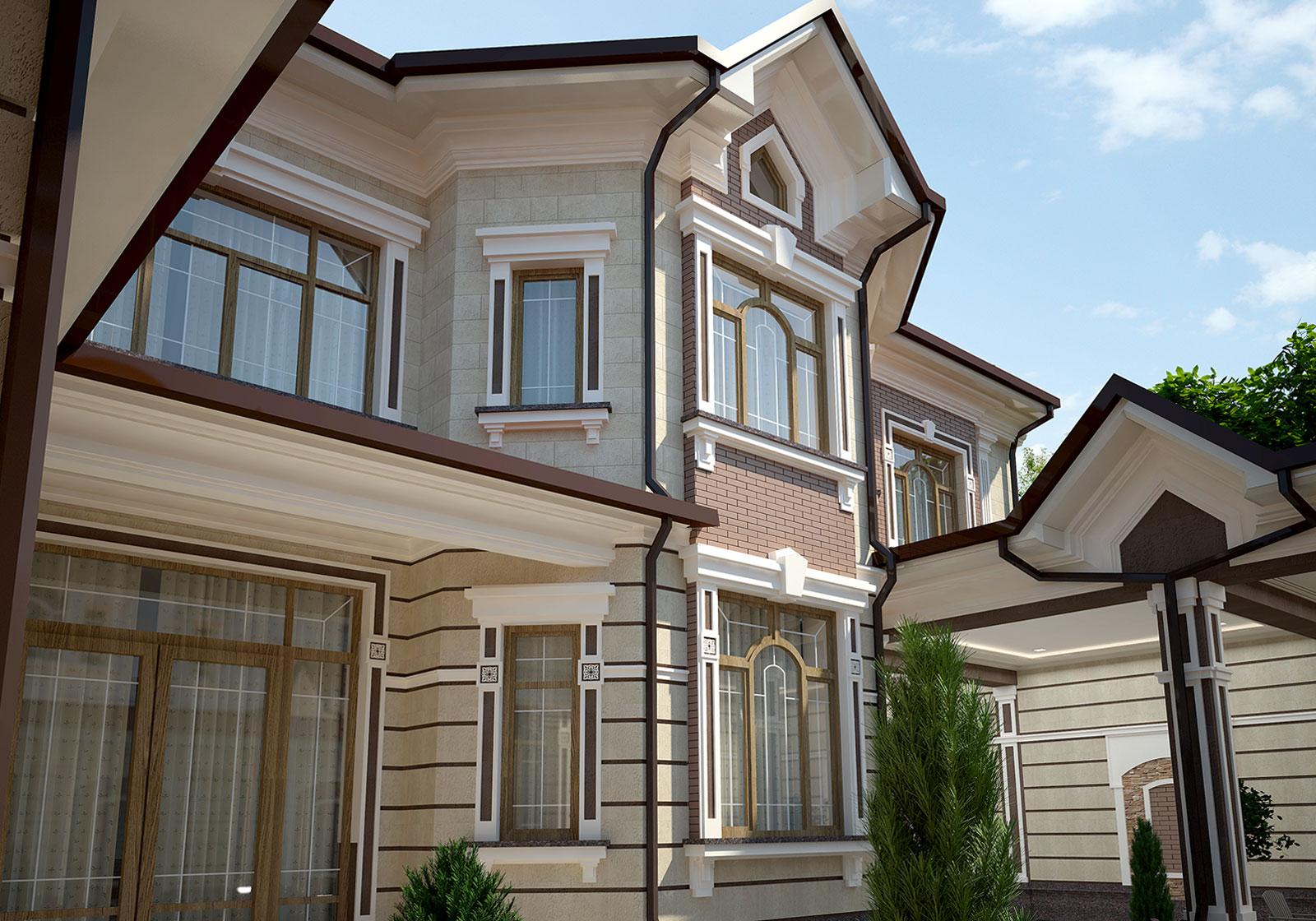 Проект кирпичного дома В Ташкенте