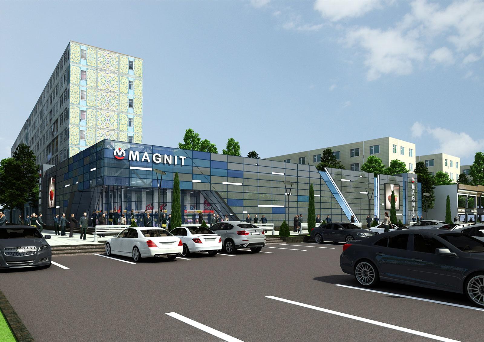 Супермаркет МАГНИТ в Ташкенте