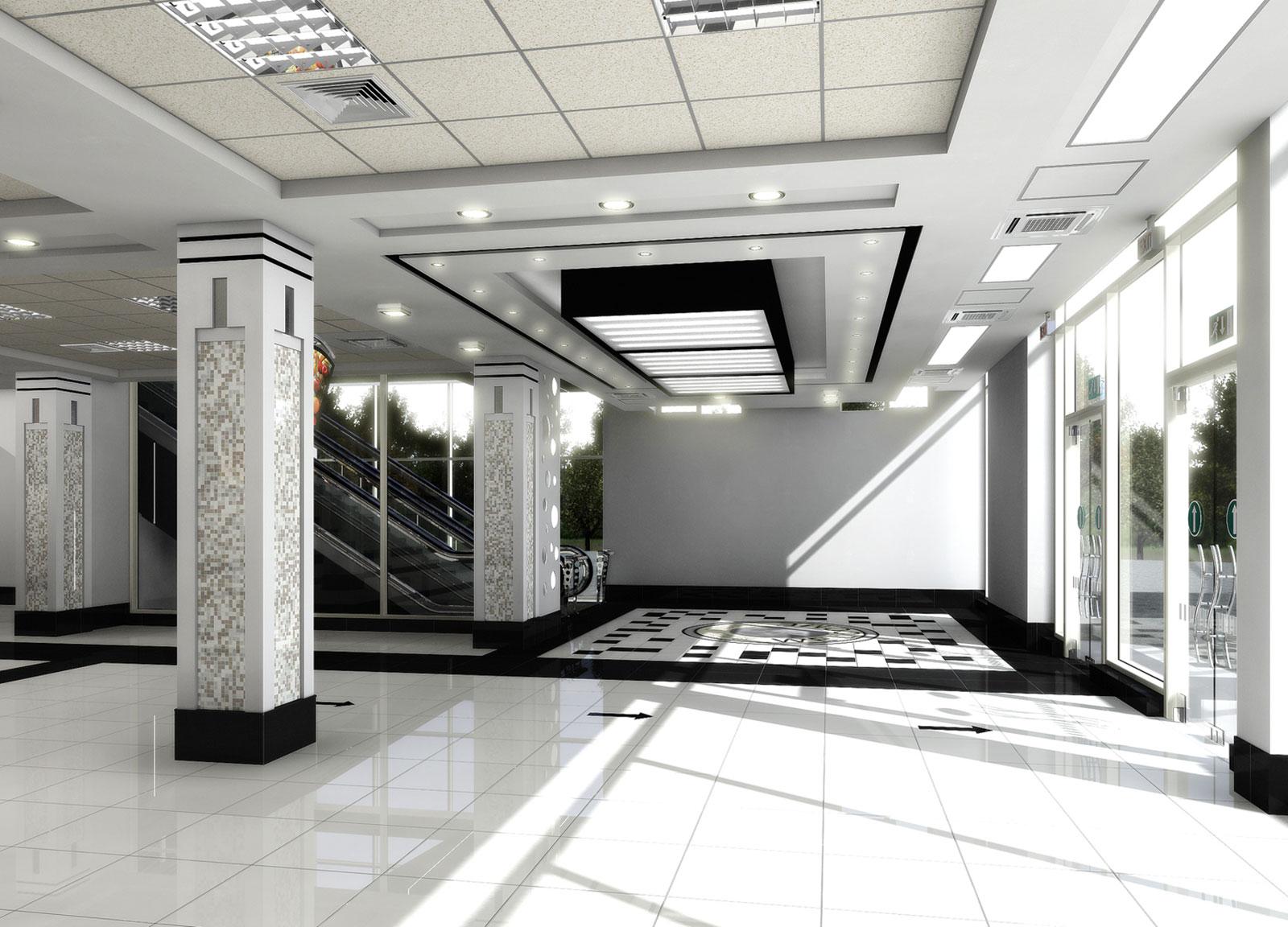 Интерьер Супермаркете МАГНИТ в Ташкенте