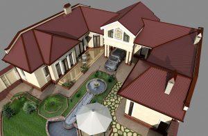 Уютный и компактный пригородный дом