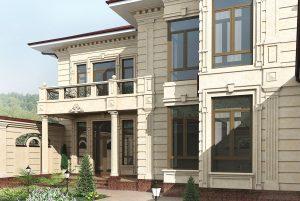 Проект современного узбекского коттеджа