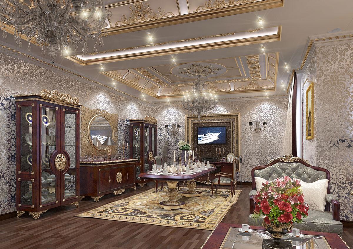 Дизайн интерьера в классическом стиле