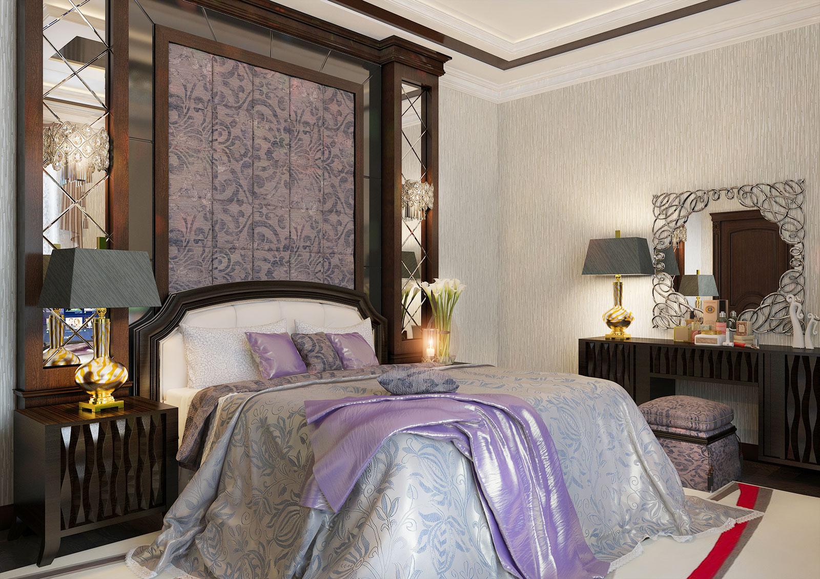 Дизайн спальной комнаты в Ташкенте