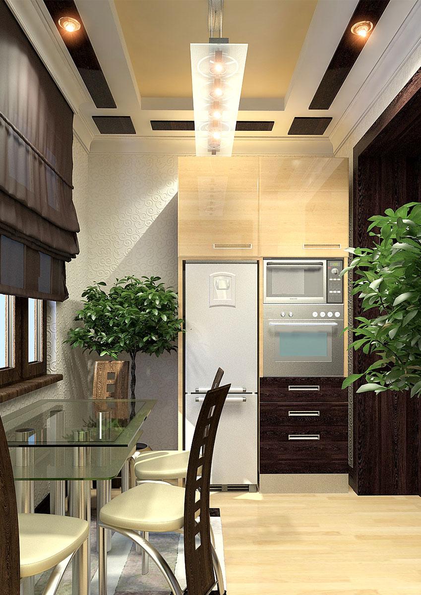 Дизайн интерьера квартиры в современном стиле - дизайн кухни
