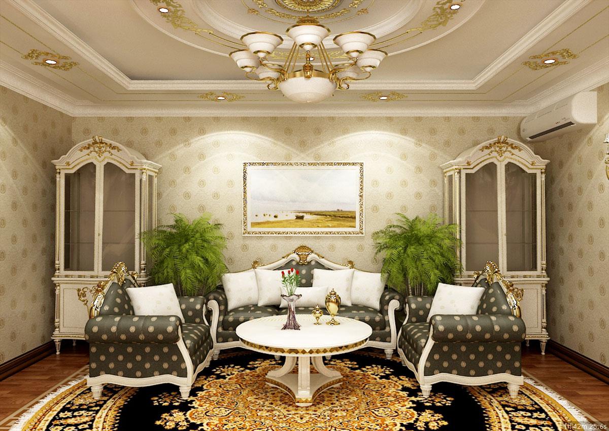 Интерьер частного дома в Ташкенте - дизайн гостиной