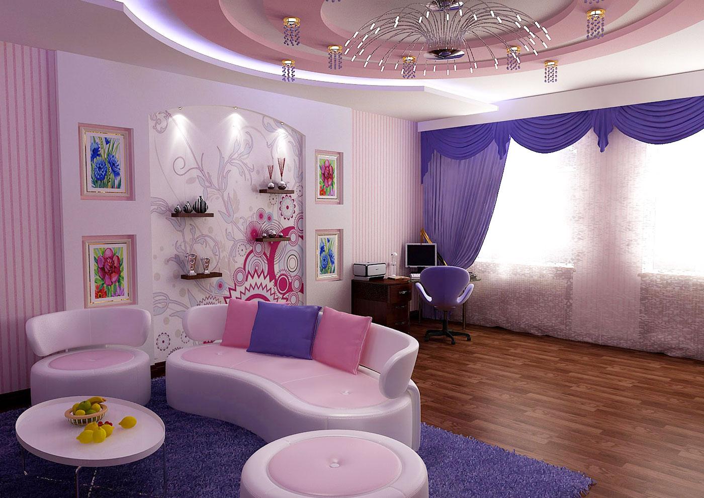 Интерьер частного дома в Ташкенте - дизайн детской комнаты