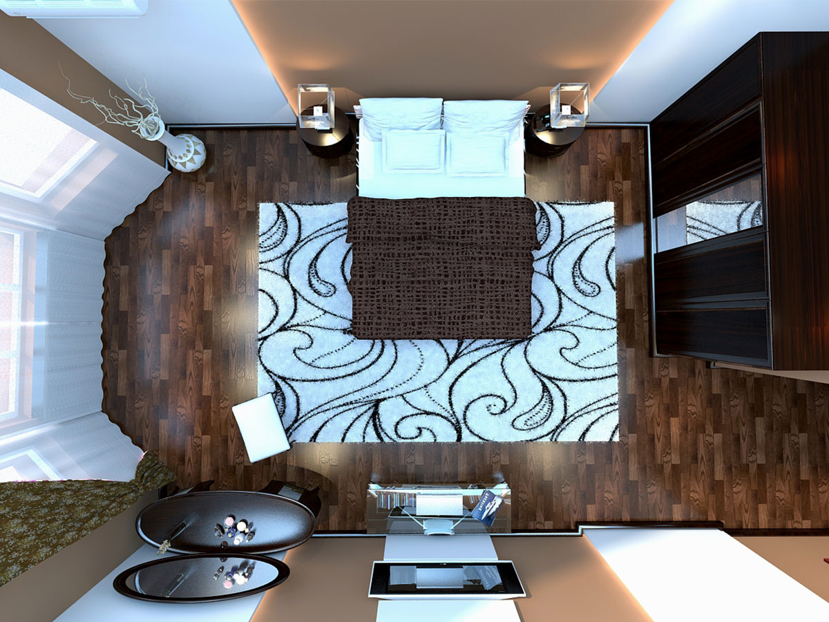 Интерьер частного дома в Ташкенте - дизайн спальной комнаты