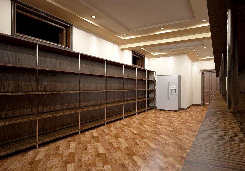Интерьер частного дома в Ташкенте – склад