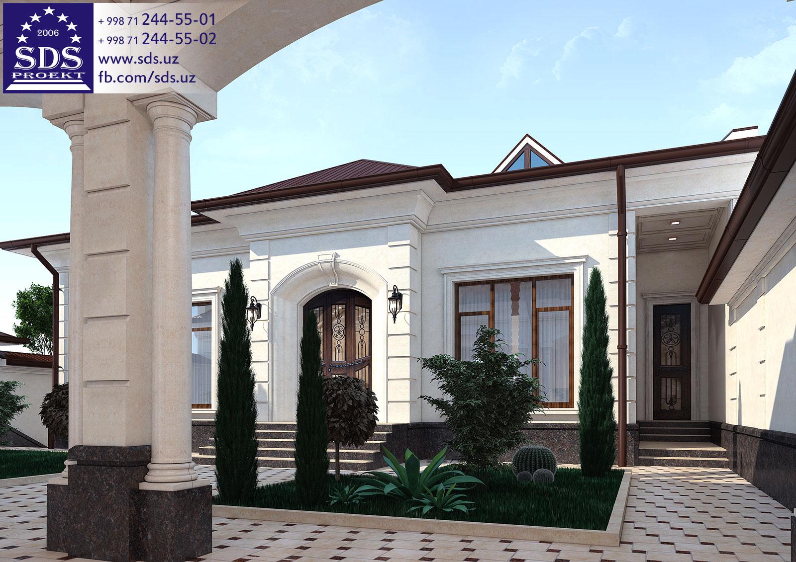 Красивый участок на склоне в Ташкенте