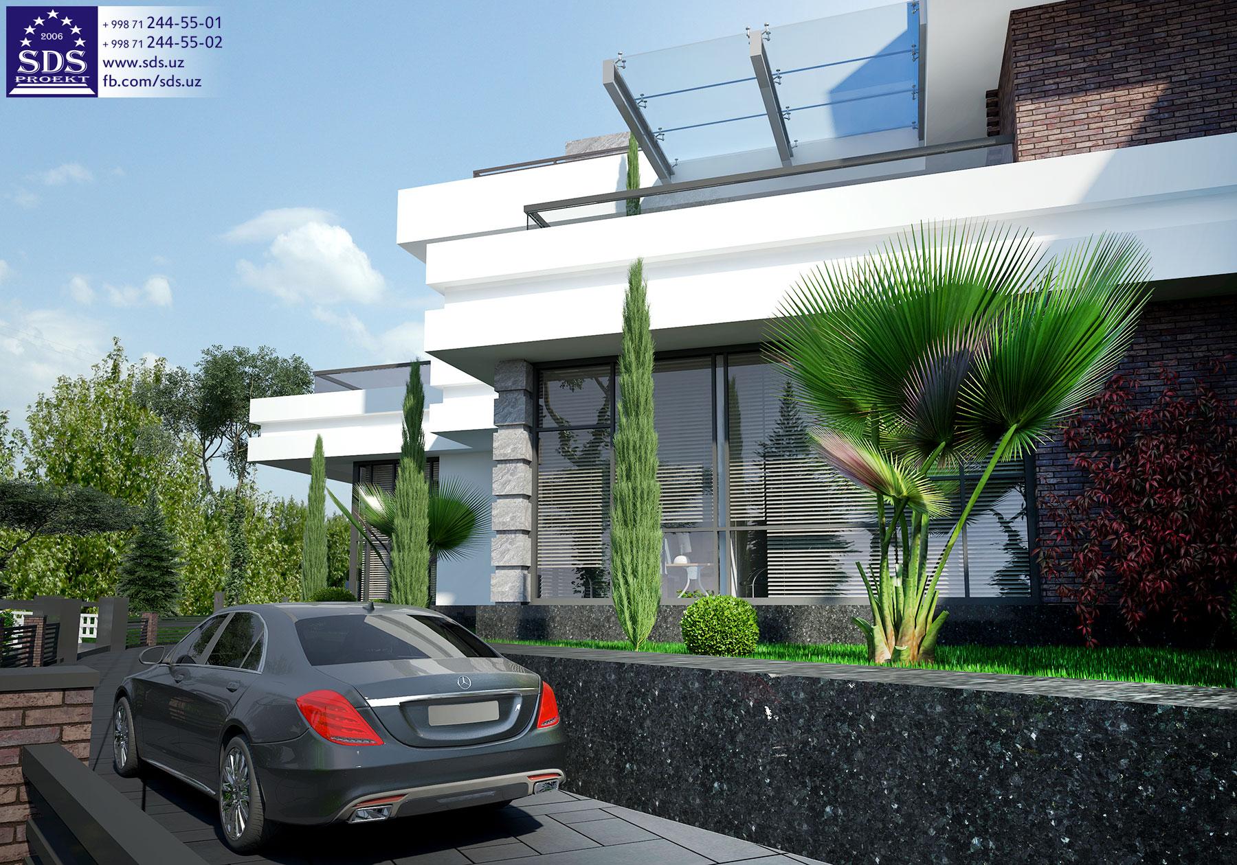 Эскизное предложение здания спортивного комплекса Динамо