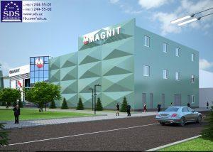 Еще один супермаркет Магнит в Ташкенте