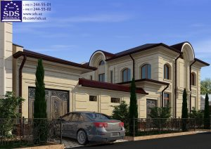 Планировка двухэтажного дома в Ташкенте