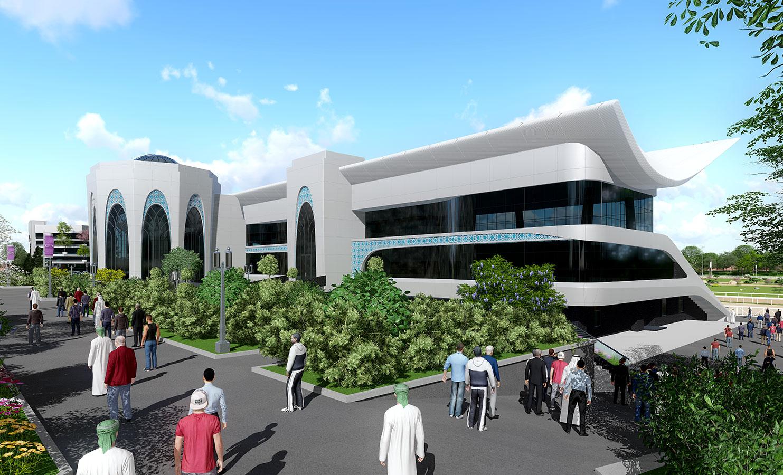 Реконструкция и строительство новых объектов в ипподроме Ташкента