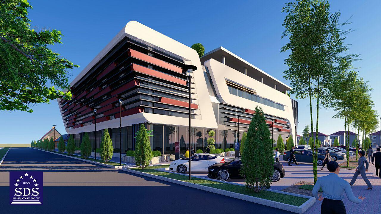 Современный трехэтажный офис в Ташкенте