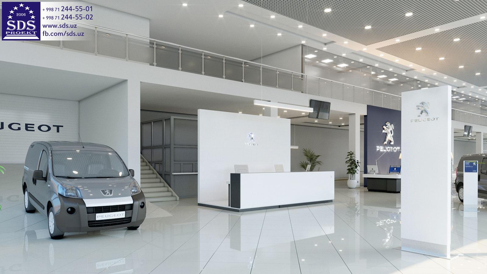 Автосалон PEUGEOT в Ташкенте