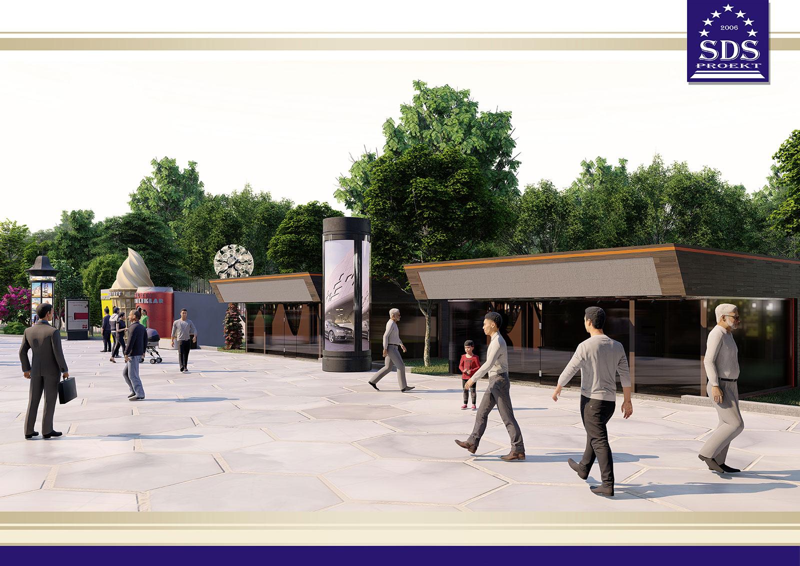 Инновационный парк Family park в городе Самарканд